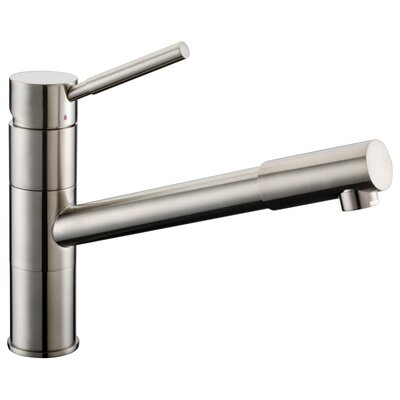 Single Handle Deck Mount Kitchen Faucet with Pull-Out Spray Product Photo