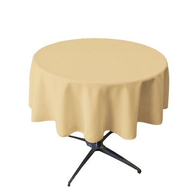 Polyester Round Tablecloth by Wayfair Basics