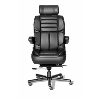 Comfort Plus+ Series Pacifica Leather High-Back Executive Chair by ERA Products Office Chairs
