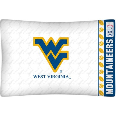 Sports Coverage Inc. NCAA West Virginia Pillowcase