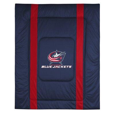Sports Coverage Inc. NHL Columbus Blue Jackets Sidelines Comforter