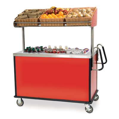 Stainless Steel Breakfast Cart by Lakeside Manufacturing