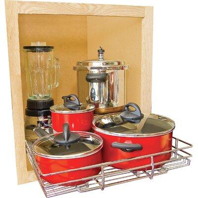 Expandable Kitchen Cabinet Pull Out Shelf by JA Marketing