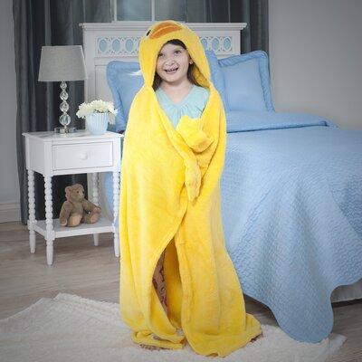 Bright Eyes Duck Deluxe Kids Blanket by Snuggie