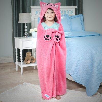 Bright Eyes Kitten Deluxe Kids Blanket by Snuggie