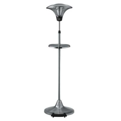 1500W Halogen Free Standing Electric Patio Heater by Nomura