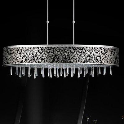 7 Light Pendant by CrystalWorld