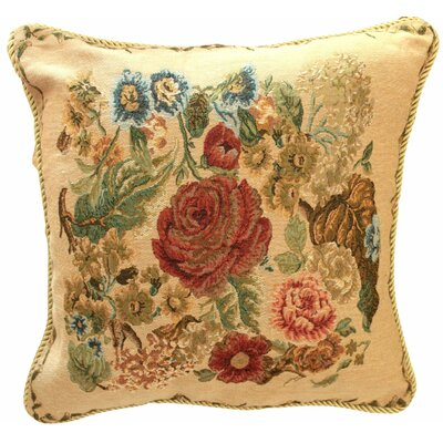 Morning Meadow Throw Pillow Cushion Cover by Tache Home Fashion