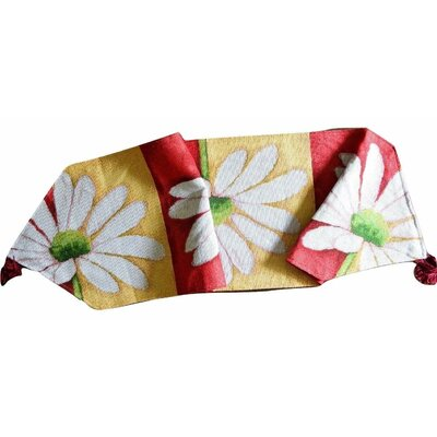 Loves Me Not Spring Decorative Table Runner by Tache Home Fashion