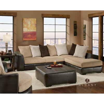 San Marino Sectional by Albany