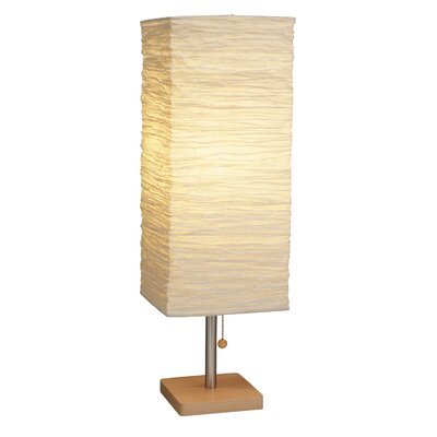 "Adesso Dune 25"" H Table Lamp with Rectangular Shade"