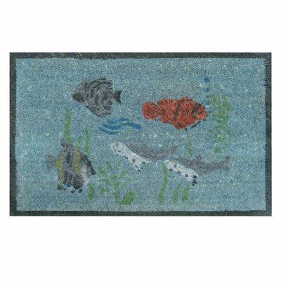 Aquarium Home Doormat by Rubber-Cal, Inc.