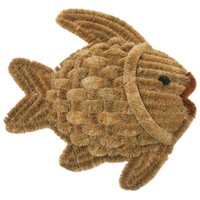 Fish Scraper Decorative Doormat by Rubber-Cal, Inc.