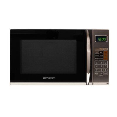 1.2 Cu. Ft. 1100W Countertop Microwave in Gray Product Photo