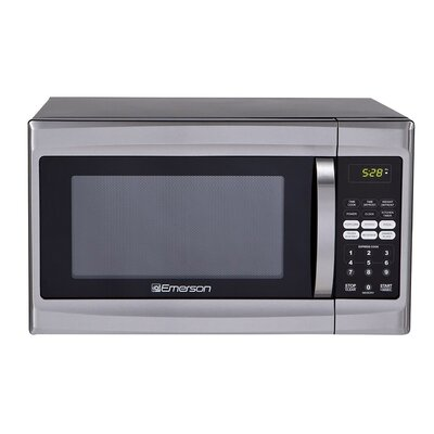 1.3 Cu. Ft. 1000W Countertop Microwave in Silver Product Photo