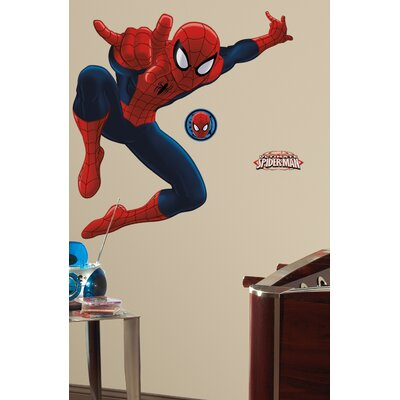 Ultimate Amazing Spider-Man Wall Decal by Wallhogs