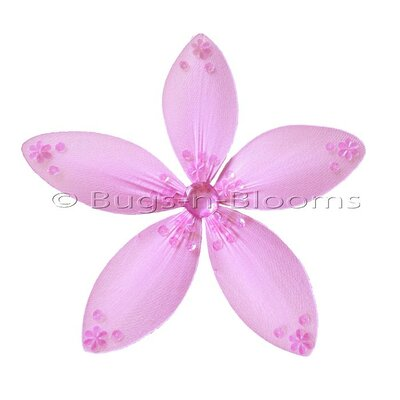Flower Hanging Twinkle Nylon 3D Wall Decor by Bugs-n-Blooms
