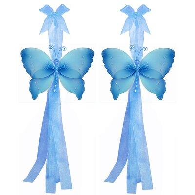 The Butterfly Grove Makena Flower Curtain Tieback Reviews Wayfair