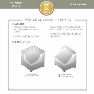 Venice Winter Cover Set by TK Classics