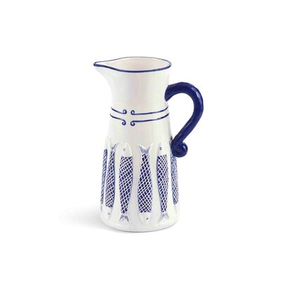 Net Fish Pitcher by Mud Pie™