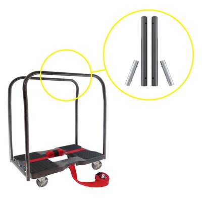Extension Bar Set for Dolly and E-Strap System by Snap-Loc