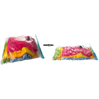 2 Piece Convenient Vacuum Seal Storage Bag Set Product Photo
