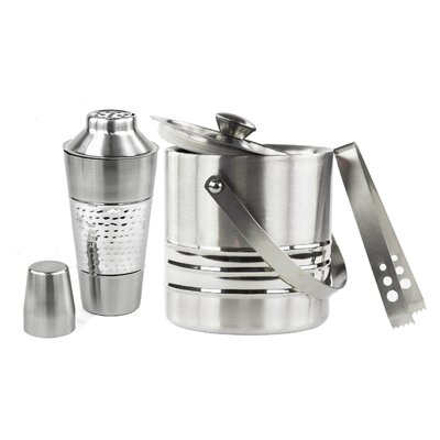 Stainless Steel Cocktail Shaker and Bucket by Imperial Home