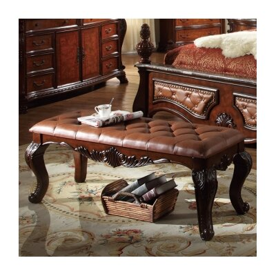 Luxor Bedroom Bench by Meridian Furniture USA