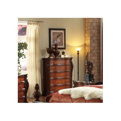 Luxor 5 Drawer Chest by Meridian Furniture USA