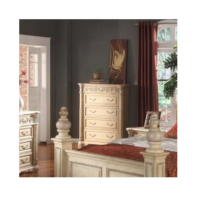 Sienna 4 Drawer Chest by Meridian Furniture USA