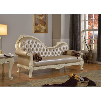 Madrid Chaise Lounge by Meridian Furniture USA