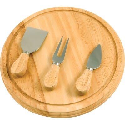 KitchenWorthy Cheese Board & Serving Set