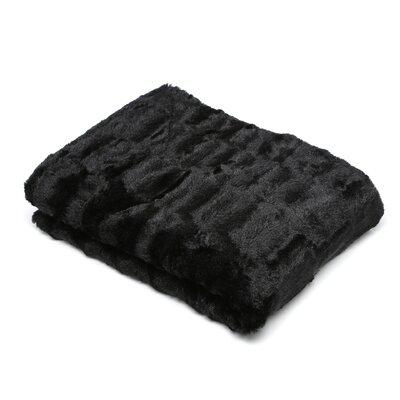 Faux Fur Throw Blanket by Roberto Amee