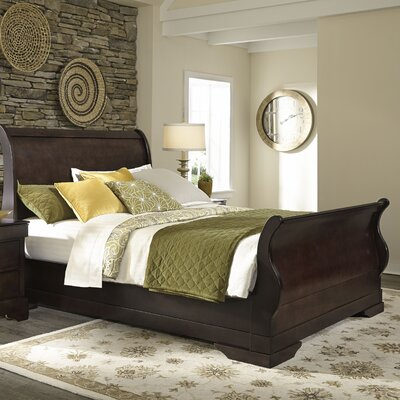 Valencia Sleigh Bed by LifeStyle Solutions