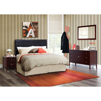 Zurich Panel 4 Piece Bedroom Set by LifeStyle Solutions