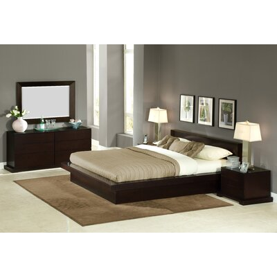 Zurich Platform 5 Piece Bedroom Set by LifeStyle Solutions