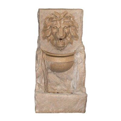 Fierce Lion Head Fountain by NorthlightSeasonal