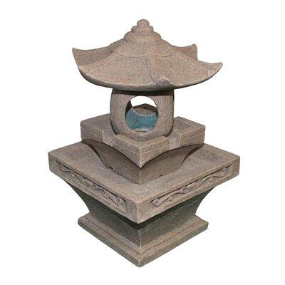 Asian Inspired Pagoda Fountain by NorthlightSeasonal