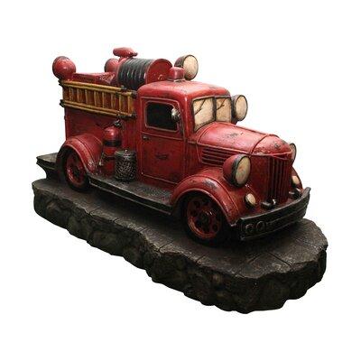 Fire Truck Fountain by NorthlightSeasonal