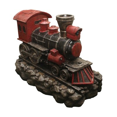 Locomotive Train Fountain by NorthlightSeasonal