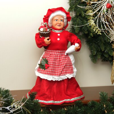 Mrs. Claus Baking Sweets Christmas Tree Topper or Table Top Decoration by NorthlightSeasonal