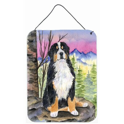 Bernese Mountain Dog Aluminum Hanging Painting Print Plaque by Caroline's Treasures