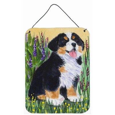 Bernese Mountain Dog Aluminum Metal Hanging Painting Print Plaque by Caroline's Treasures