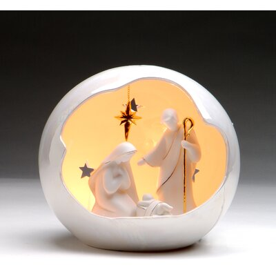Medium Globe Holy Family Night Light by CosmosGifts