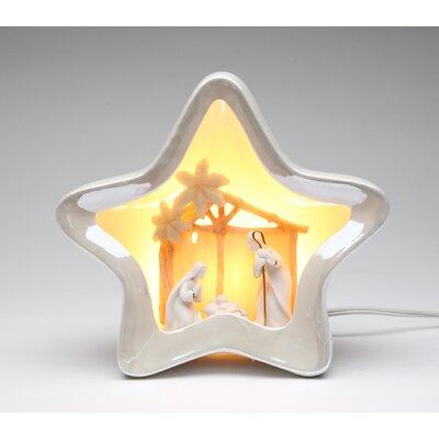 Star Shape Nativity Night Light by CosmosGifts