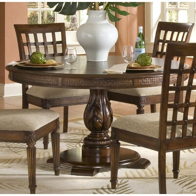 Palm Court II Round Pedestal Dining Table by Darby Home Co