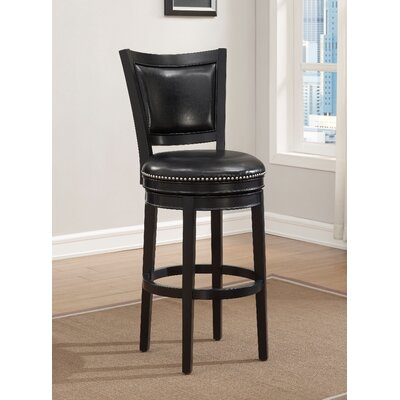 Swivel Bar Stool with Cushion by Darby Home Co