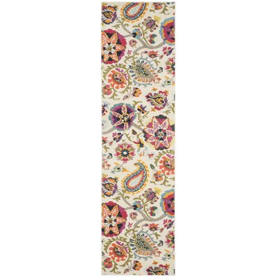 Monaco Ivory Area Rug by Darby Home Co