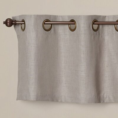 "Jackmann Grommet Tailored 50"" Curtain Valance Product Photo"
