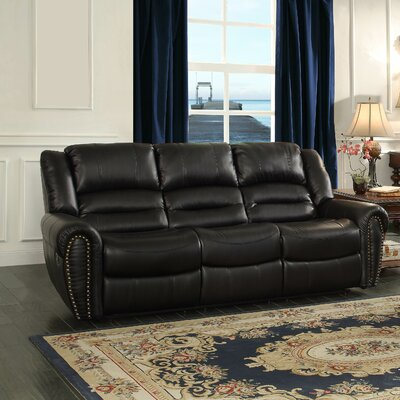 Darby Home Co DBHC3852 Caffey Power Double Reclining Sofa
